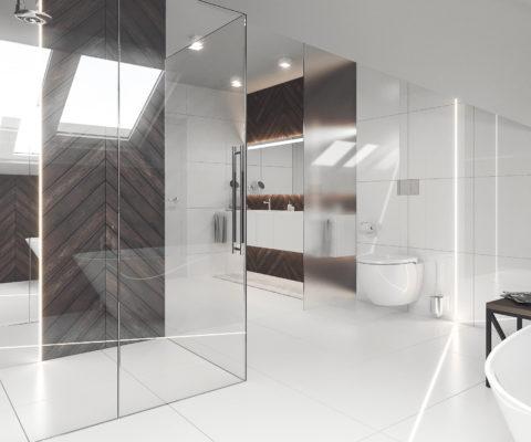 łazienka w stylu minimalizm