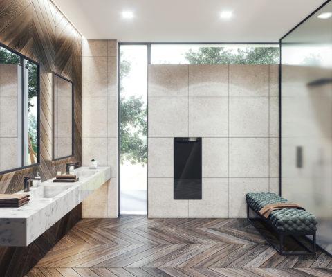 projekt łazienki w nowoczesnym stylu